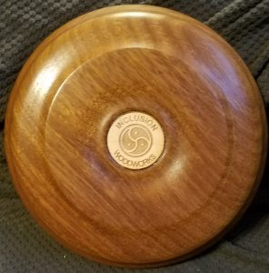 African Sapele Bowl 5